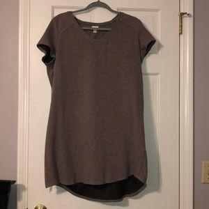 Target Striped T-shirt Dress